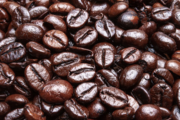 Seeds coffe texure background
