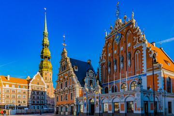 Schwarzhäupterhaus in Riga am Rathausplatz - Lettland