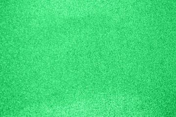 Abstract blur green glitter sparkle defocused bokeh light background