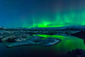 Foto auf Acrylglas Nordlicht Lights of Iceland