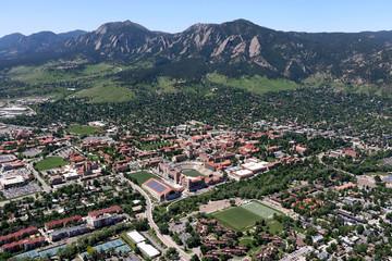 University of Colorado Boulder Aerial