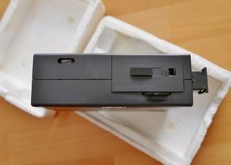 ALtes Blitzgerät für analoge Kamera