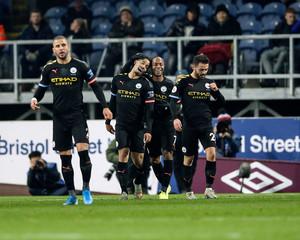 2019 Premier League Football Burnley v Manchester City Dec 3rd