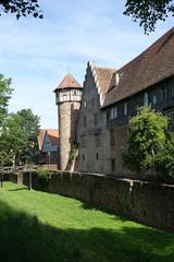 Burg und Diebsturm in Michelstadt