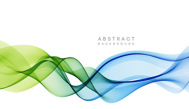 Abstract colorful vector background, color wave for design brochure, website, flyer.