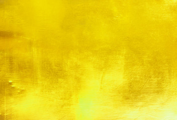 wall and floor gold yellow mosaic tiles