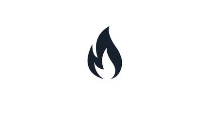 fire flames black  icon