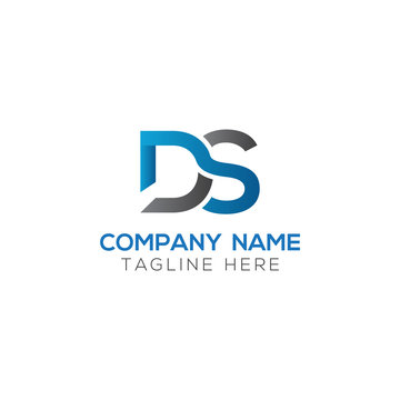 Initial DS Letter Logo With Creative Modern Business Typography Vector Template. Creative Letter DS Logo Vector.