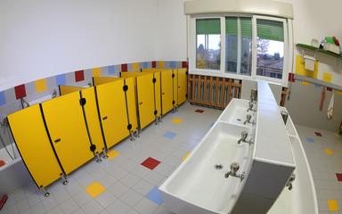 Bathroom of a kindergarten