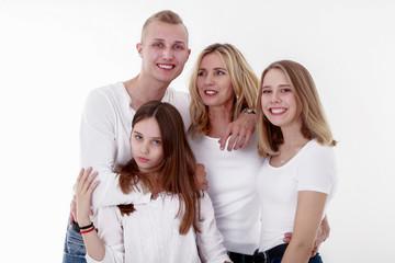 Familien Fotoshooting mit Kinder und Mutter