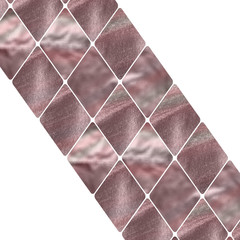 diagonal rose gold rhombus pattern