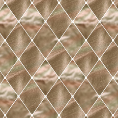 gold rhombus pattern