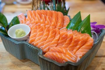 Sashimi Japanese food