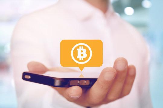 ビットコイン 仮想通貨とスマホ アプリ Bitcoin wallet application smartphone