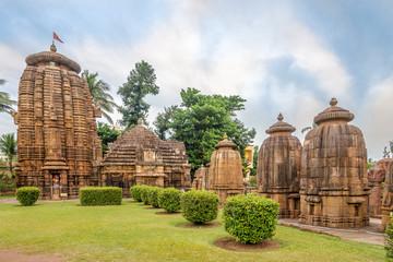 View at the Mukteshvara Temple in Bhubaneswar  - Odisha, India