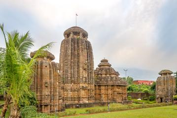 View at the Chitrakarini Temple Complex in Bhubaneswar - Odisha, India