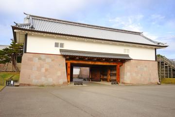 Kanazawa Castle Park, Kanazawa City, Ishikawa Pref., Japan