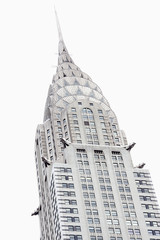 New York City, NY, United States - Chrysler Building at midtown Manhattan.