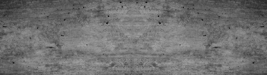Grey anthracite black stone concrete texture background  panorama banner long Wall mural