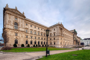 Wall Mural - Neue burg -  the new part of the Hofburg palace. Vienna, Austria