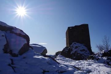 tour d'Egat dans les pyrénées orientales