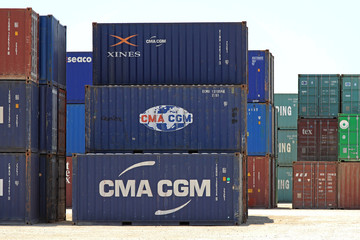 Container Port Greece