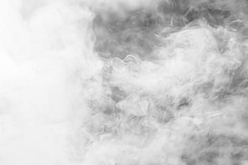 Garden Poster Smoke White thick smoke background texture. fog