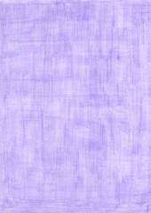 cold violet rectangle sheet of paper colored with pencil.