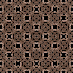 Interlace Wooden Surface Seamless Pattern