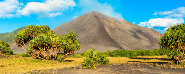 Keuken foto achterwand Oranje Mount Yasur Volcano, Tanna Island, Vanuatu.