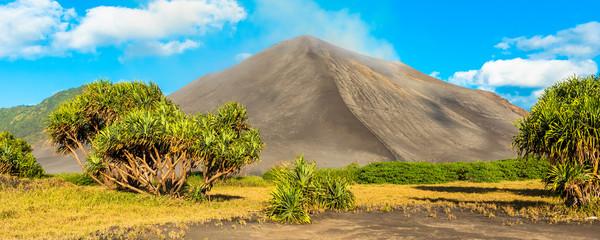 Garden Poster Orange Mount Yasur Volcano, Tanna Island, Vanuatu.