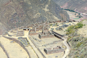 Pisaqa sector of Pisac archaeological site, Peru
