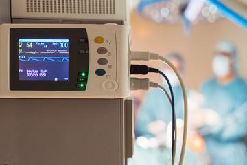 ECG electrodes machine