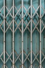 Blue gate background