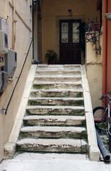 Treppe in Korfu-Stadt
