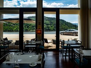 Luxushotel am See in Porto, Portugal