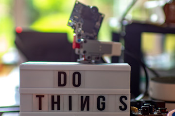 Maker Space: Do things