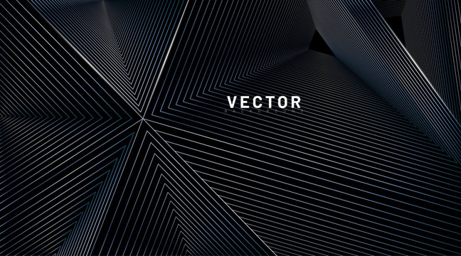 abstract background vector. illusion of triangular lines. Vector illustrations for wallpapers, banners, backgrounds, cards, book illustrations, landing pages