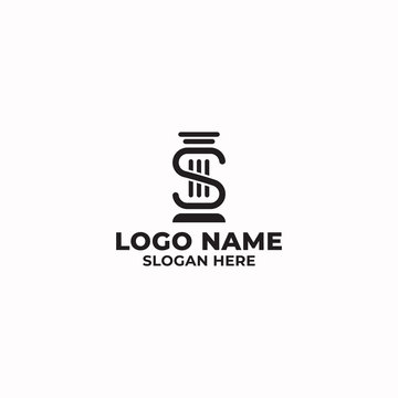 S latter/Law firm logo design for use any purpose