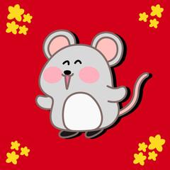 Really Cute Rat Character