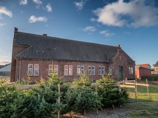 Modest mission house in Thyboroen in West Denmark