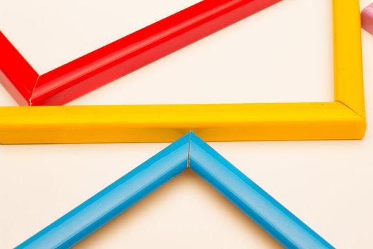 Gama de colores básicos y complementarios