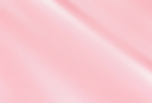 Closeup of pink wavy fabric texture background, satin silk texture wrinkled style, Luxurious valentines day or wedding abstract background design