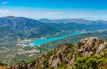 Aposelemi reservoir, Crete, Greece