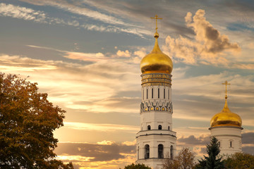 Christ the Savior Cathedral in Moscow.