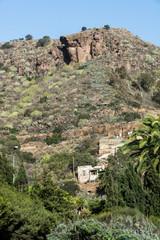 Landschaft von Gran Canaria beim Botanischem Garten .