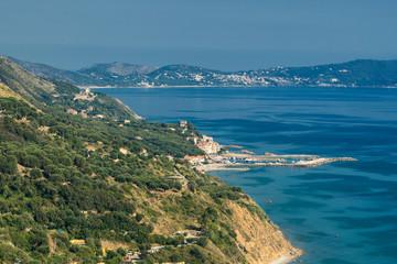 Coast at Baia Tirrena, Salerno, Italy