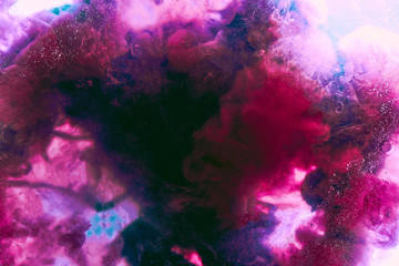 Abstract passion and love color background. Pink purple dancing smoke, valentines day backdrop