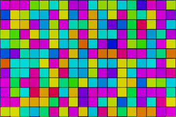 abstract mosaic background with colored squares or blocks