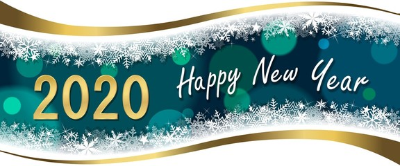 Greeting Card Happy New Year wishes 2020